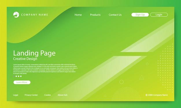 Sfondo della pagina di destinazione del sito web