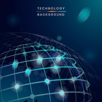Sfondo della tecnologia globale