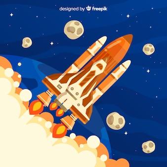 Sfondo dello space shuttle