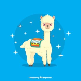 Sfondo di alpaca