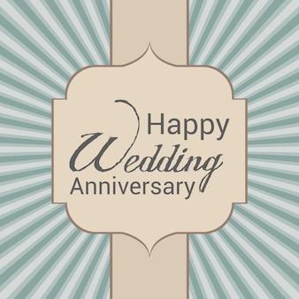 Sfondo di anniversario di matrimonio