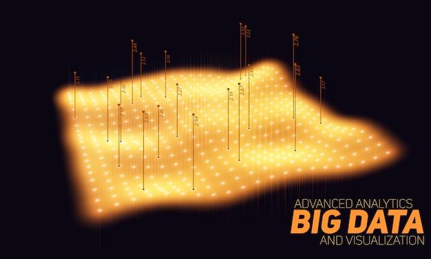 Sfondo di big data