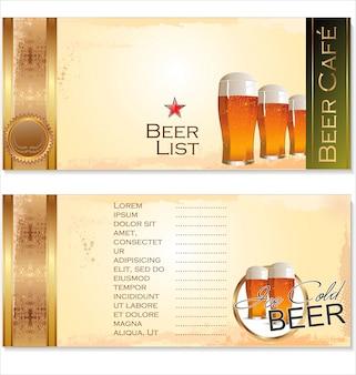 Sfondo di birra