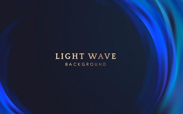 Sfondo di bordo onda luminosa