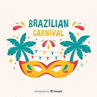 Sfondo di carnevale brasiliano
