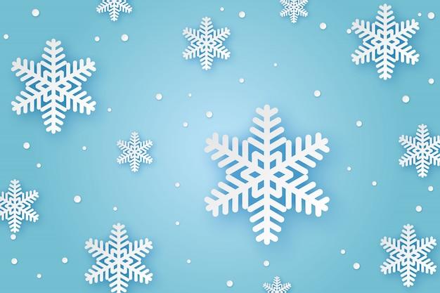 Sfondo di carta invernale