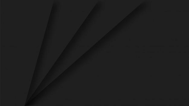Sfondo di carta nera