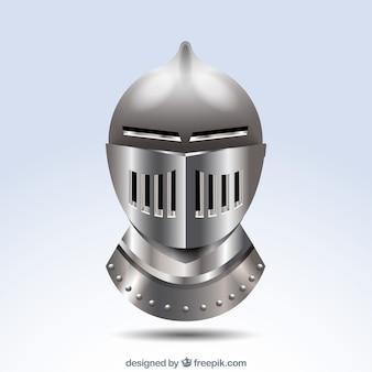 Sfondo di casco di armatura