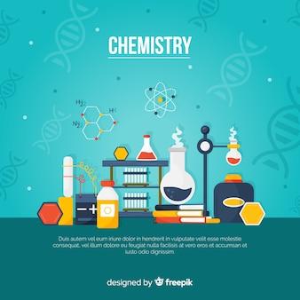 Sfondo di chimica
