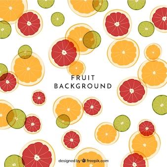Sfondo di cibo con frutta
