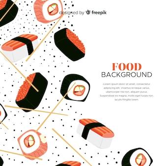 Sfondo di cibo realistico