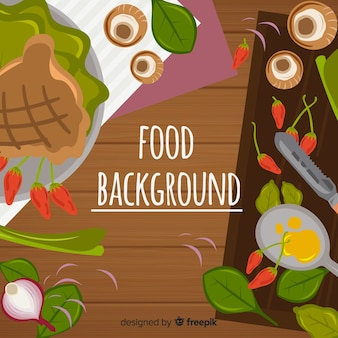 Sfondo di cibo