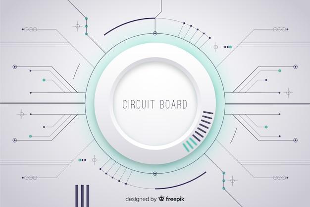 Sfondo di circuito stampato