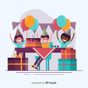 Sfondo di compleanno