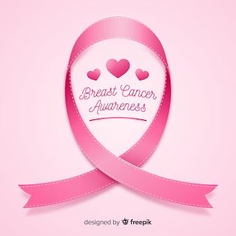 Sfondo di consapevolezza del cancro al seno
