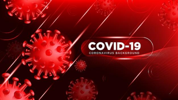 Sfondo di coronavirus covid-19