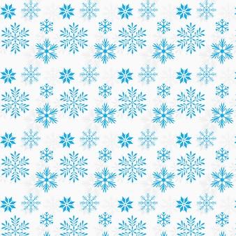 Sfondo di desgin pattern di fiocchi di neve