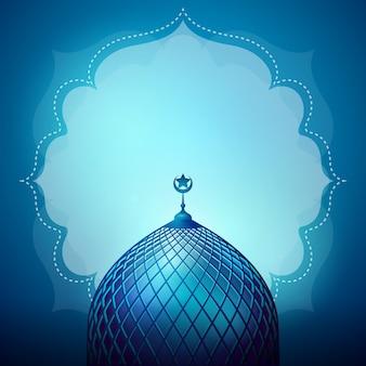 Sfondo di design islamico