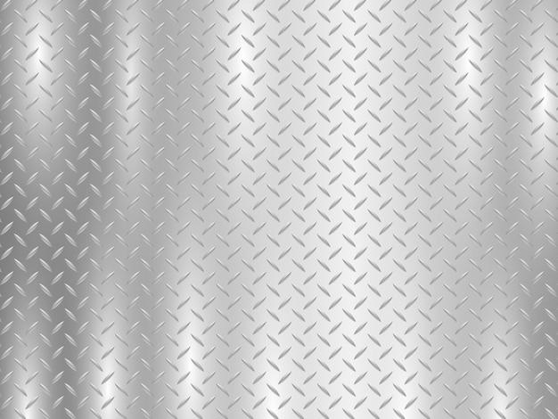Sfondo di diamante piatto di metallo