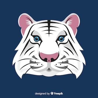 Sfondo di faccia di tigre