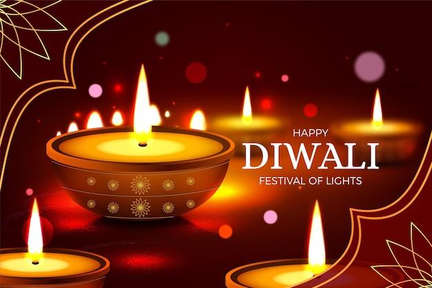 Sfondo di festival diwali