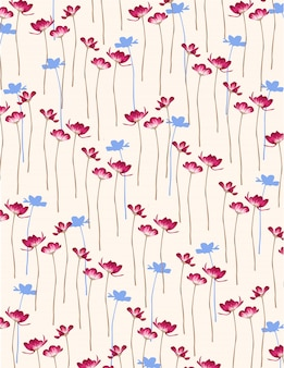 Sfondo di fiori semplici