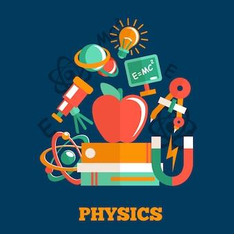 Sfondo di fisica