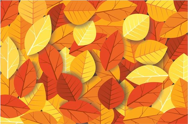 Sfondo di foglie d'autunno