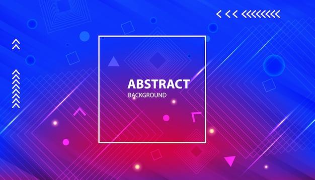 Sfondo di forma geometrica gradiente astratto moderno
