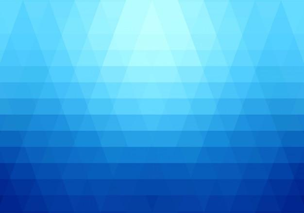 Sfondo di forme geometriche blu moderno
