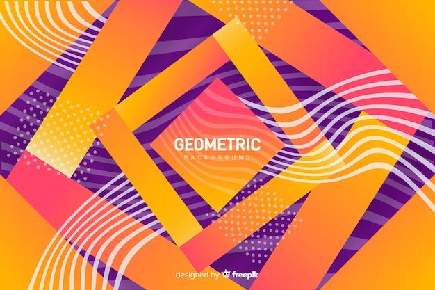 Sfondo di forme geometriche sfumate