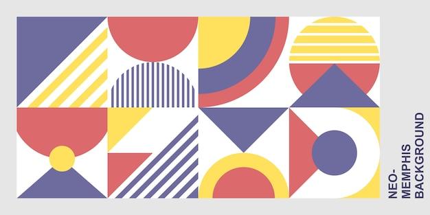 Sfondo di forme geometriche
