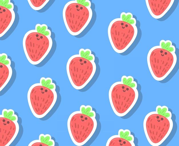 Sfondo di fragole
