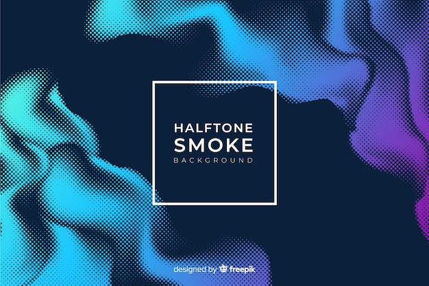 Sfondo di fumo di mezzitoni