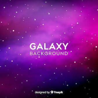 Sfondo di galassia viola e rosa