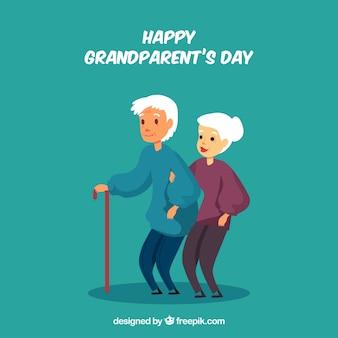 Sfondo di giorno dei nonni