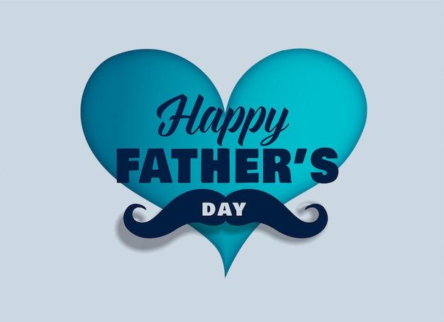 Sfondo di giorno di padri felice