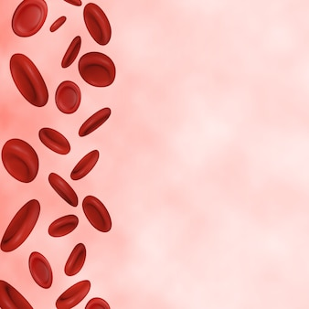 Sfondo di globuli rossi