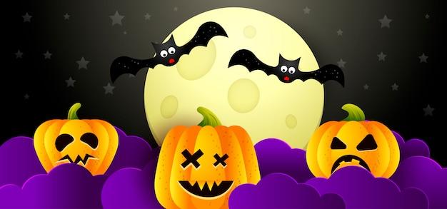 Sfondo di illustrazione vettoriale halloween