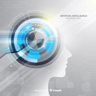 Sfondo di intelligenza artificiale