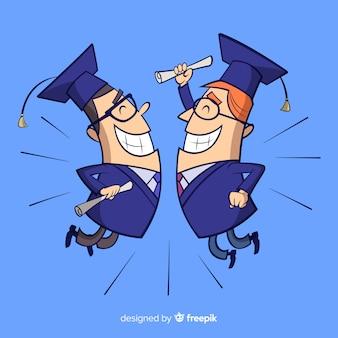 Sfondo di laurea universitaria