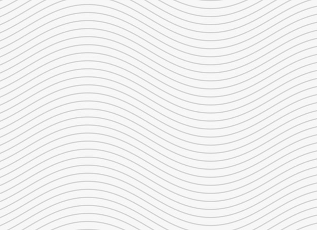 Sfondo di linee ondulate linee morbide