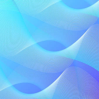 Sfondo di linee ondulate