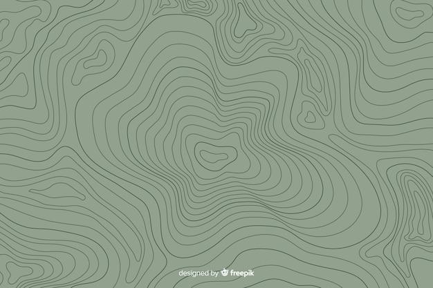 Sfondo di linee topografiche