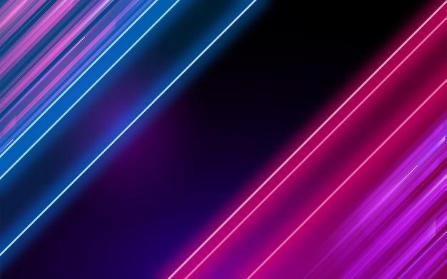 Sfondo di luci al neon