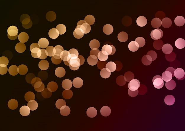 Sfondo di luci di bokeh