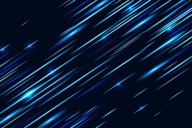 Sfondo di luci di velocità