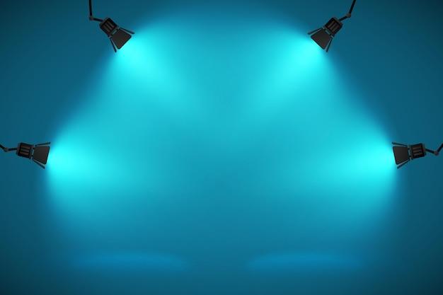 Sfondo di luci spot