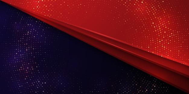 Sfondo di lusso con combinazione di colore rosso e viola scuro.