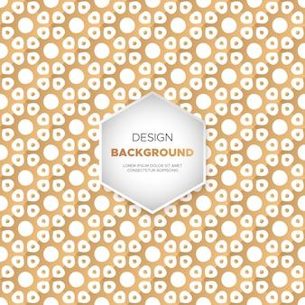 Sfondo di lusso mandala ornamentale in colore oro